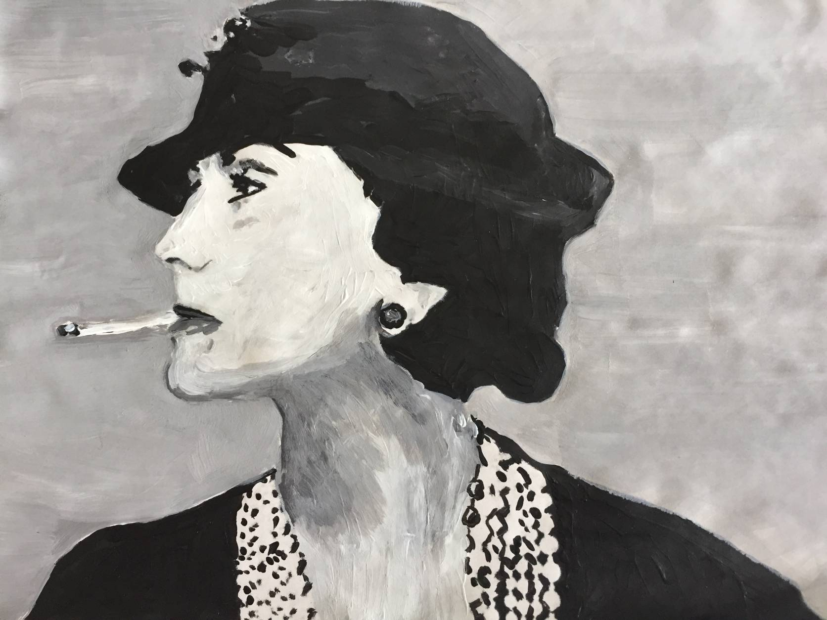 Every Friday Artwork - Hommage an Coco Chanel - 2018